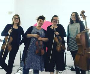 The very talented: Natasha Conrau, Kyla Matsuura-Miller, Clare Gorton, Stephanie Arnold